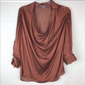 Vince silk top size 2